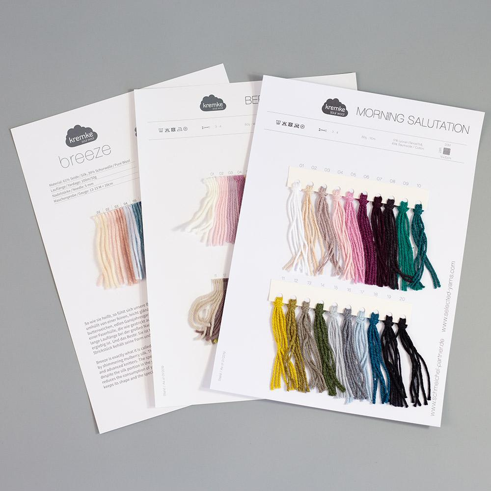 Kremke Farbkarten von Kremke Soul Wool