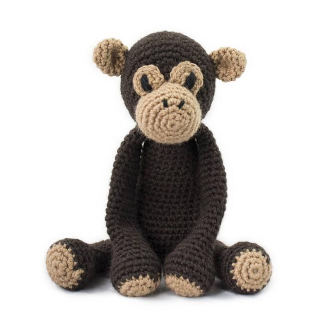 TOFT Edwards Menagerie Materialpakete Benedict Chimpanzee
