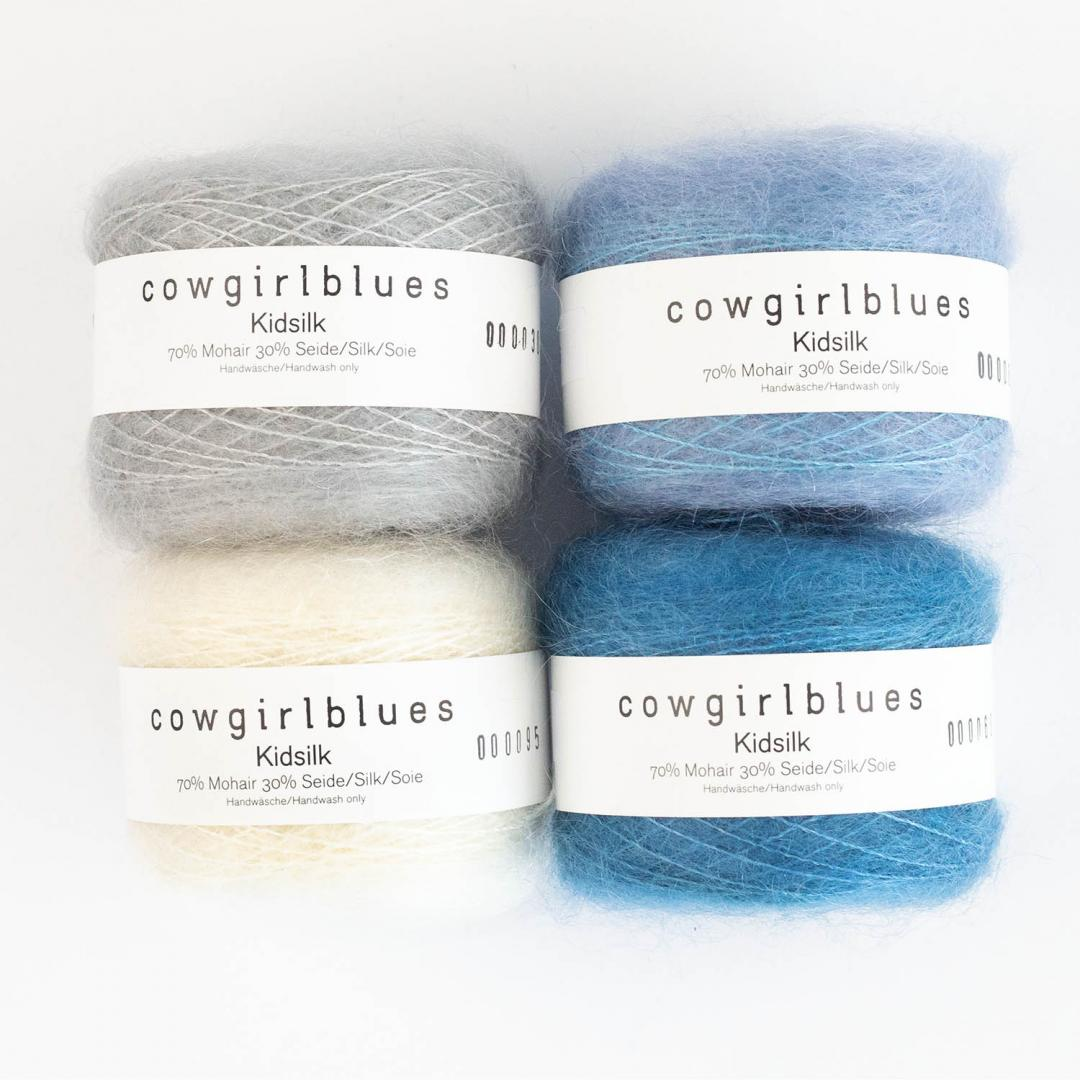 Cowgirl Blues KidSilk (25g) solids   Natural