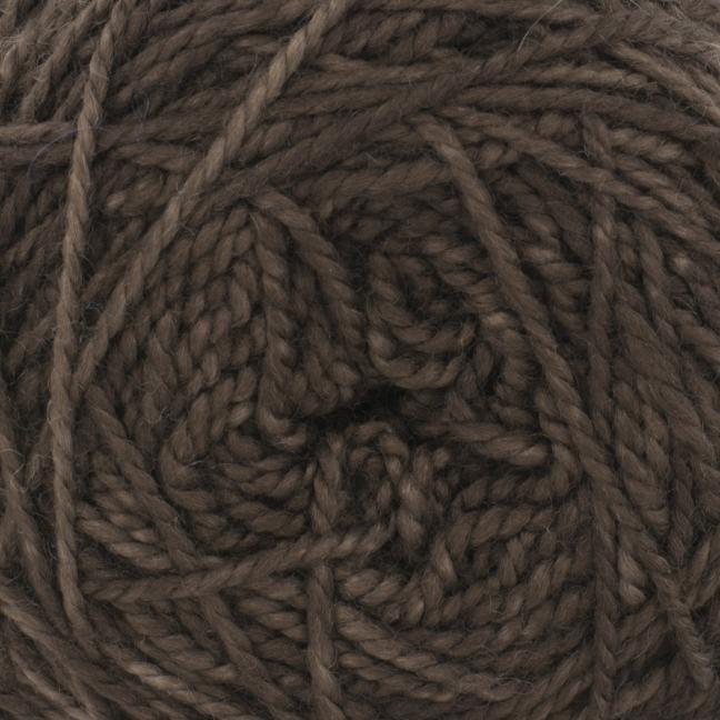 Cowgirl Blues Merino Twist Yarn solids Coffee Bean