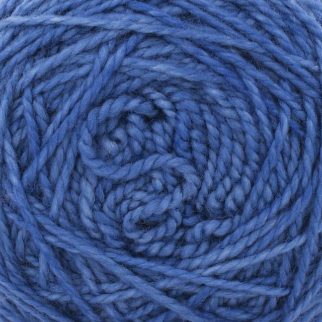 Cowgirl Blues Merino Twist Yarn solids Tanzanite