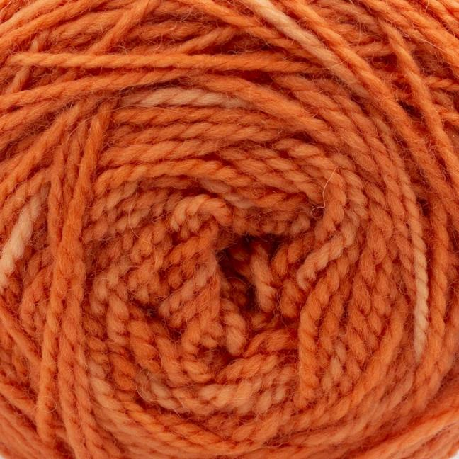 Cowgirl Blues Merino Twist Yarn solids Carrot Juice