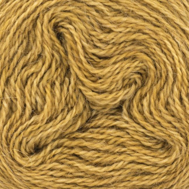 Cowgirl Blues Mohair Wool 2ply Lace (25g) solids Rust