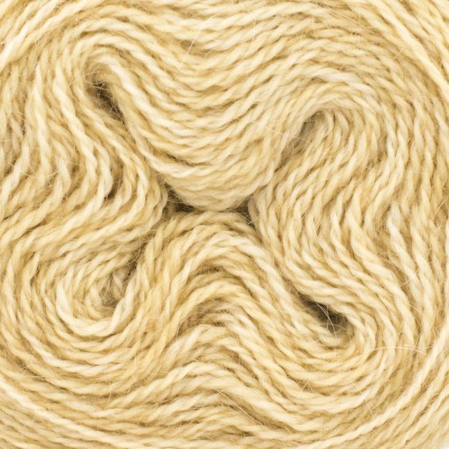 Cowgirl Blues Mohair Wool 2ply Lace (25g) solids Caramel