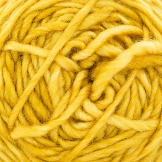 Cowgirl Blues Aran Single (100g) solids Mustard