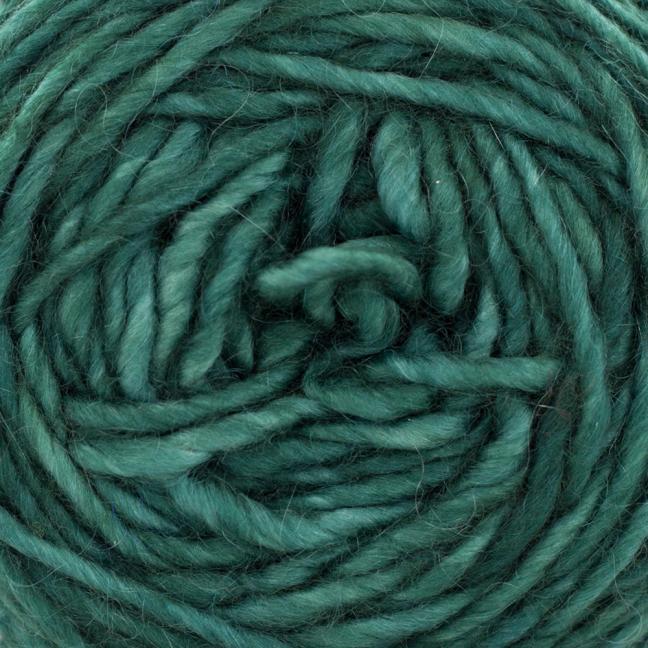 Cowgirl Blues Aran Single (100g) solids Rainforest