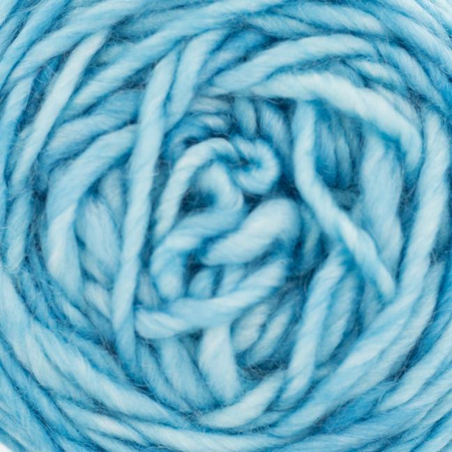 Cowgirl Blues Aran Single (100g) solids Seagrass