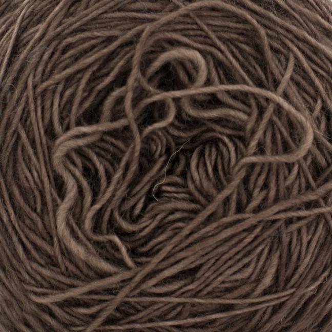 Cowgirl Blues Merino Single Lace solids Coffee Bean