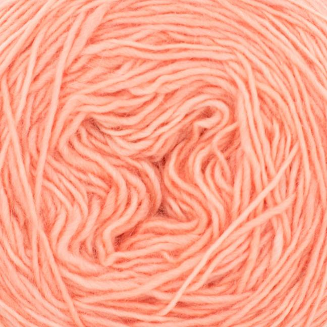Cowgirl Blues Merino Single Lace solids Coral