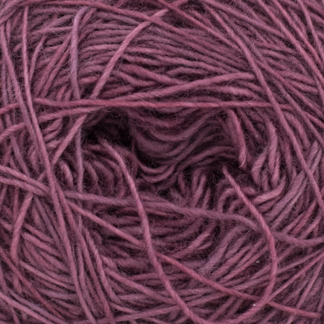 Cowgirl Blues Merino Single Lace solids Plum
